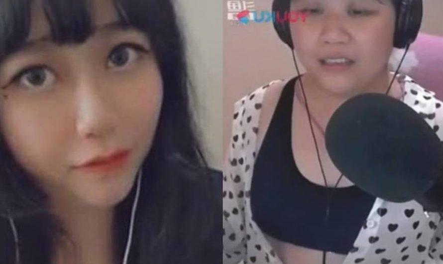 Streamer china muestra su verdadera identidad por culpa de un fallo técnico.